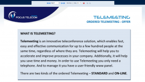 what's telemeeting